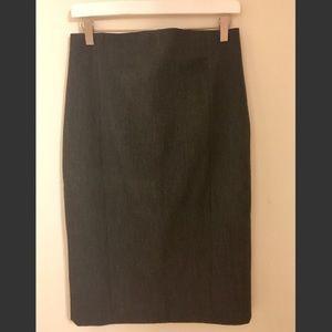 3/ $30 Express high waist pencil skirt